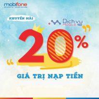 Mobifone khuyen mai ngay 22.10