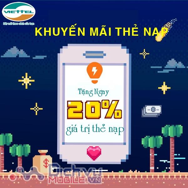 Chúc mừng ngày Phụ Nữ Việt Nam: Viettel khuyến mãi tặng 20% thẻ nạp ngày 20/10/2020