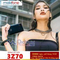 Cách đăng ký gói 3Z70 Mobifone miễn phí truy cập từ 19h đến 7h và 45GB
