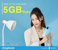 Hướng dẫn cách nhận 5GB/ ngày cho sim Vinaphone