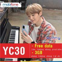 Hướng dẫn đăng ký gói YC30 Mobifone lướt youtube thả ga