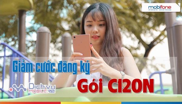 Mobifone giam cuoc dan gky goi C120N