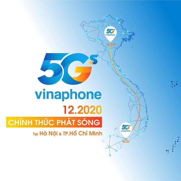 HOT: Vinaphone chính thức phát sóng 5G vào tháng 12 tại Hà Nội và Hồ Chí Minh