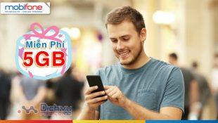 Mobifone khuyến mãi tặng 5GB miễn phí cho quý khách hàng