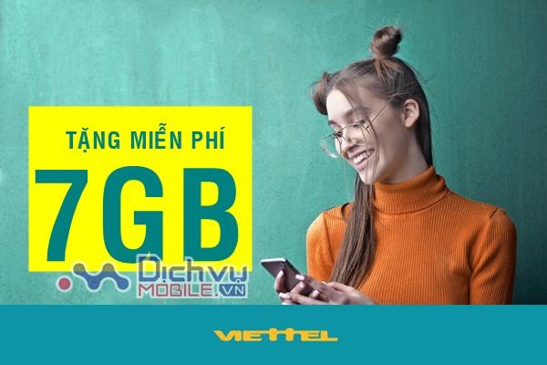 Siêu HOT: Viettel tặng free 7GB lưu lượng cho khách hàng trong tháng 11 và 12