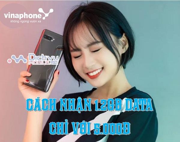 HUONG DAN CACH NHAN 1.2GB DATA CHI VOI 5K