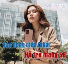 Tong hop dien thoai ho tro mang 5G