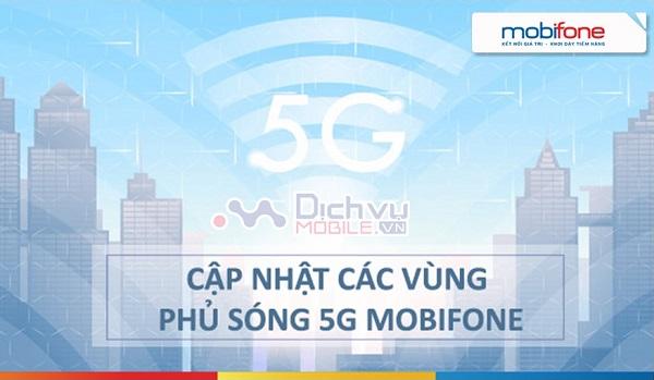 Vung phu song mang 5G Mobifone