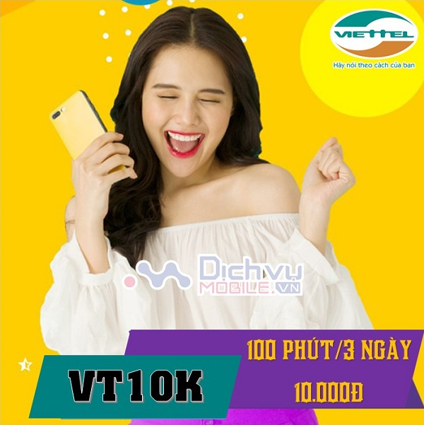 cach dang ky goi cuoc VT10K mang Viettel