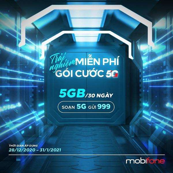 HOT: Mobifone miễn phí 5GB để khách hàng trải nghiệm mạng 5G