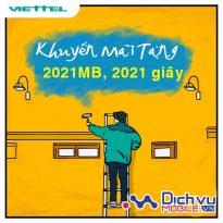"""HOT: Viettel """"recap"""" 2020 và khuyến mãi tặng 2021MB, 2021 giây gọi chào năm mới"""