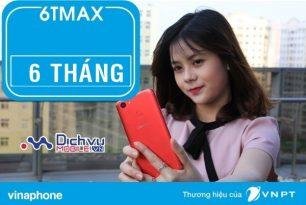 Hướng dẫn đăng ký gói 6TMAX Vinaphone ưu đãi dùng 3G trọn gói đến 6 tháng