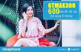 Nhận 600GB lướt web tẹt ga khi đăng ký gói 6TMAX300 Vinaphone