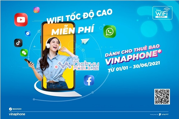 Diem cung cap Wifi Vinaphone mien phi