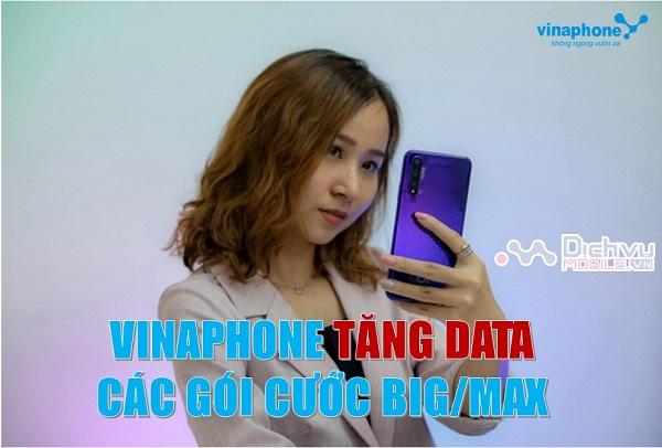 Vinaphone tang dung luong cho cac goi cuoc BIG va MAX