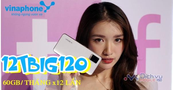 Đăng ký gói 12TBIG120 Vinaphone nhận 60GBx12 thángĐăng ký gói 12TBIG120 Vinaphone nhận 60GBx12 tháng