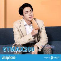 Hướng dẫn đăng ký gói 6TMAX200 Vinaphone nhận 360GB lướt web 6 tháng
