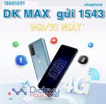 Hướng dẫn đăng ký gói 3G MAX Vinaphone ưu đãi 9GB data tháng chỉ 70.000đ
