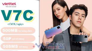 Hướng dẫn đăng ký gói cước V7C Viettel chỉ 7k nhận combo thoại và data hấp dẫn