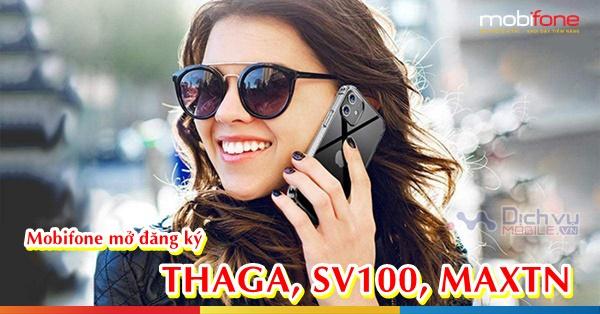 HOT: Mobifone mở đăng ký lại các gói THAGA, SV100, MAXTN