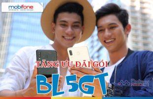 HOT: Mobifone nâng cấp ưu đãi gói BL5GT từ 5GB lên 10GB giá không đổi