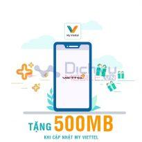 TIN HOT: Cập nhật ứng dụng Viettel tặng ngay 500MB miễn phí