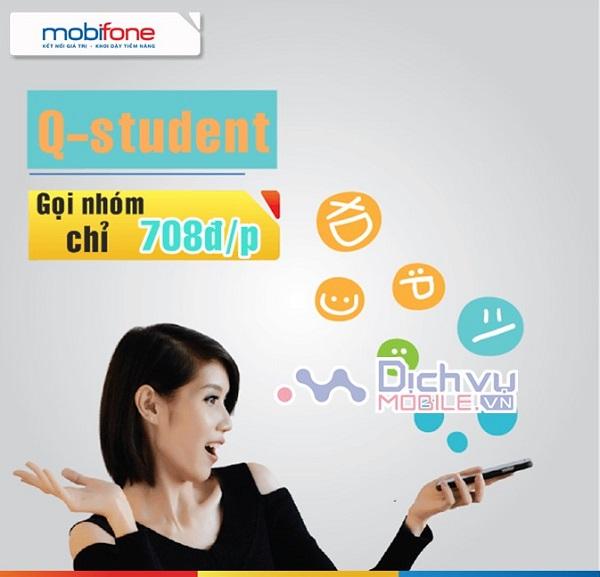 Goi cuoc Q-Student Mobifone
