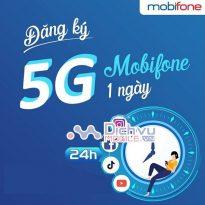 dang ky goi cuoc 5G 1 ngay Mobifone