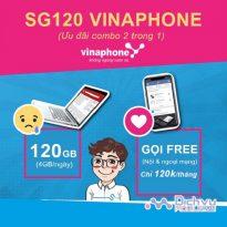 goi cuoc SG120 mang Vinaphone