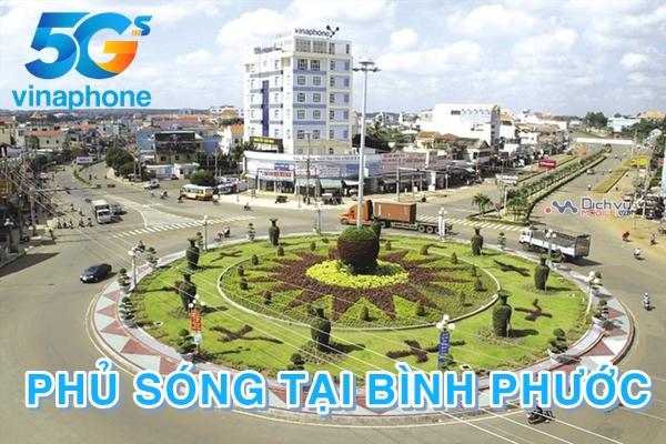 Vinaphone phủ sóng mạng 5G tại tỉnh Bình Phước