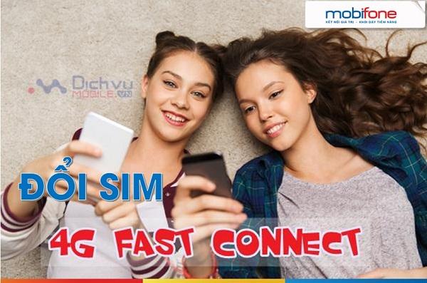 doi sim 4G Fast connect mobi mien phi