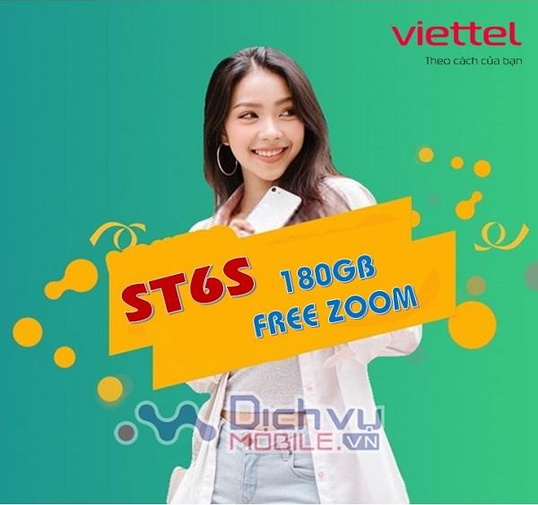 goi cuoc ST6S mang Viettel