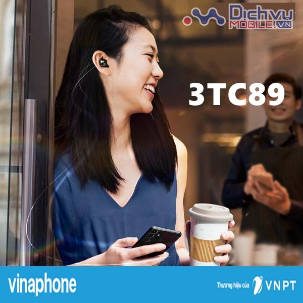 Hướng dẫn đăng ký gói 3TC89 VinaPhone nhận 4.680 phút, 180 SMS