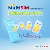 Siêu Hot: MobiFone thay đổi cước duy trì cho sim Multisim còn 25K/thángSiêu Hot: MobiFone thay đổi cước duy trì cho sim Multisim còn 25K/tháng