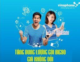 Vinaphone tang dung luong goi cuoc BIG90 gia khong doi