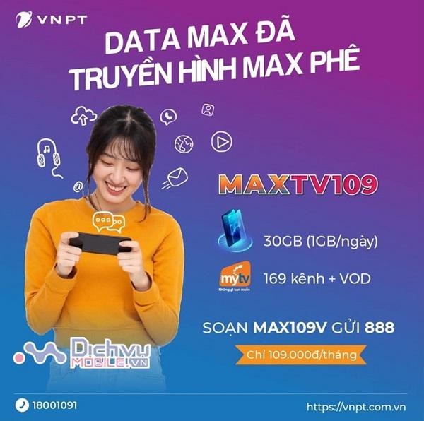 goi cuoc MAXTV109 Vinaphone