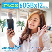 Hướng dẫn đăng ký gói 12TMAX200 Vinaphone nhận 60GBX12 tháng
