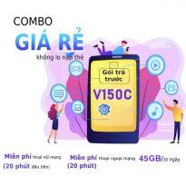 Hướng dẫn đăng ký gói cước V150C Viettel nhận 45GB, free thoại cực HOT