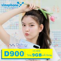 Hướng dẫn đăng ký gói D900 Vinaphone nhận data khủng dùng 12 tháng