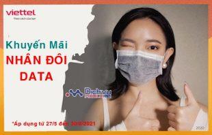 HOT: Viettel khuyến mãi nhân đôi data khi đăng ký 4G cho thuê bao ở Bắc Giang