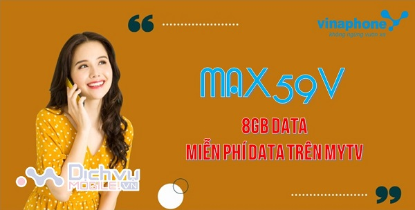 goi cuoc MAX59V mang Vinaphone