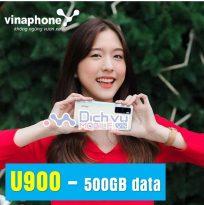 goi cuoc U900 mang Vinaphone
