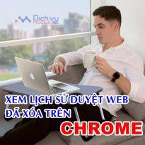 Hướng dẫn khôi phục lịch sử duyệt web trên Chrome cực đơn giản