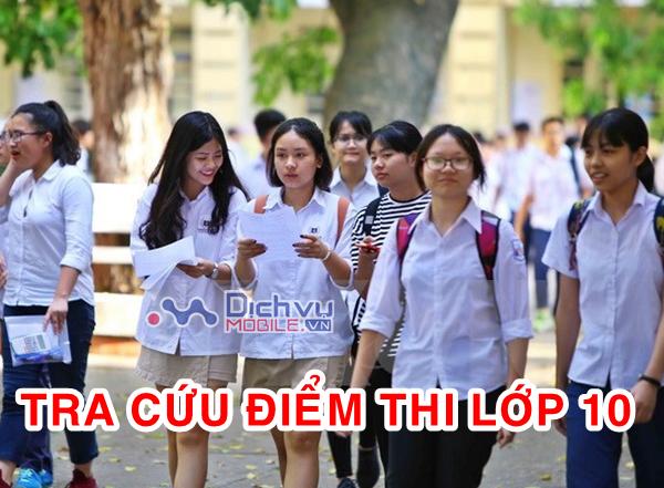 Hướng dẫn tra cứu điểm thi vào lớp 10 năm 2021 chi tiết nhất