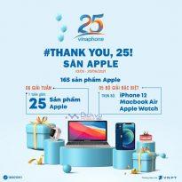"""Vinaphone khuyến mãi """"Thank you, 25 – Săn Apple"""" tặng quà hoành tráng"""