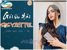 Các gói ưu đãi tin nhắn Viettel giá rẻ chỉ từ 1000đ đến 3000đ