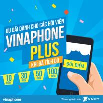 Cách đổi điểm Vinaphone Plus lấy gói data 3GB, 5GB, 10GB miễn phí