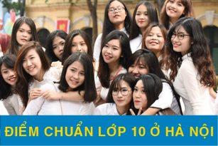 Chi tiết điểm chuẩn vào lớp 10 tại Hà Nội năm 2021-20212