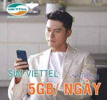 Viettel có SIM 4G chu kỳ 1 năm ưu đãi 5GB/ ngày hay không ?