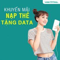 Viettel khuyến mãi nạp thẻ tặng data từ 5/6 đến 7/6/2021